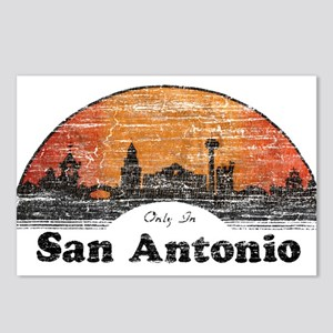 Vintage San Antonio Postcards (Package of 8)