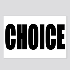 CHOICE Postcards (Package of 8)