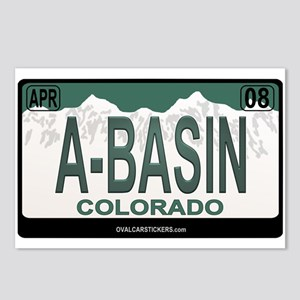 A-Basin Plate Postcards (Package of 8)