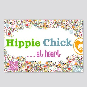 lg-hippie-chick Postcards (Package of 8)