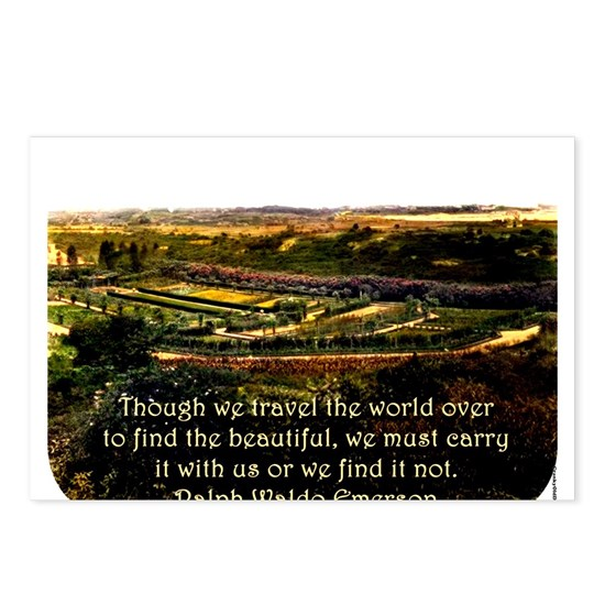 Though We Travel The World Over - Emerson