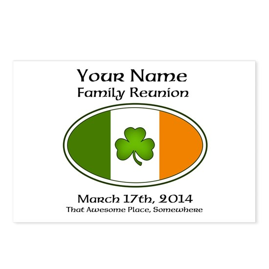 Irish Family Reunion with YOUR NAME