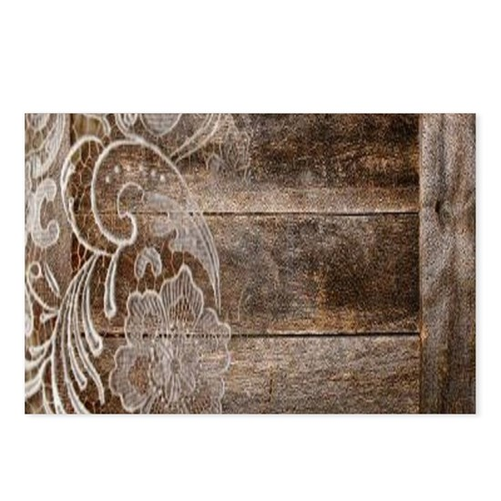 western country lace barnwood