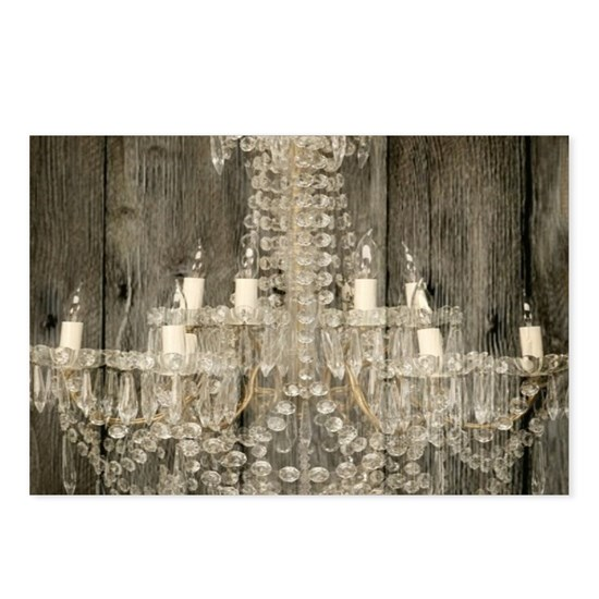 shabby chic rustic chandelier