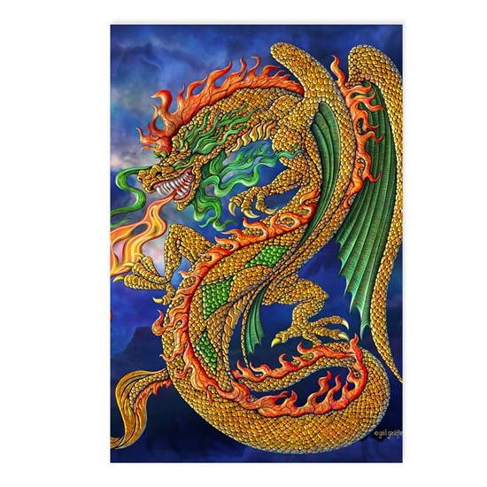 Golden Dragon 16x20