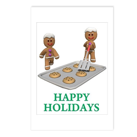 HAPPY HOLIDAYS - GINGERBREAD MEN