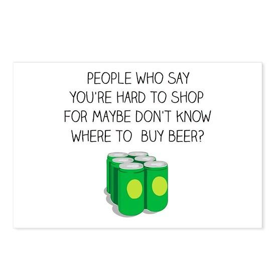 Birthday Beer Postcards (Package of 8)