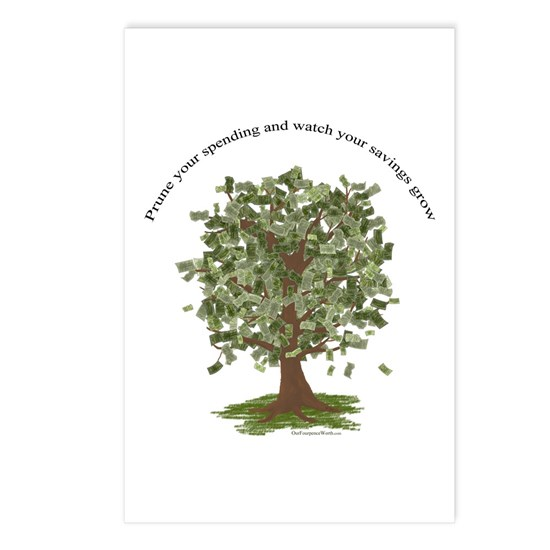 prune spending grow savings money tree