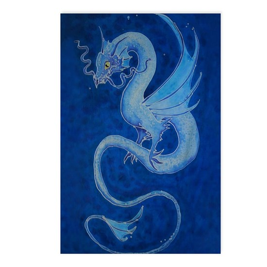 Mystical Blue Dragon