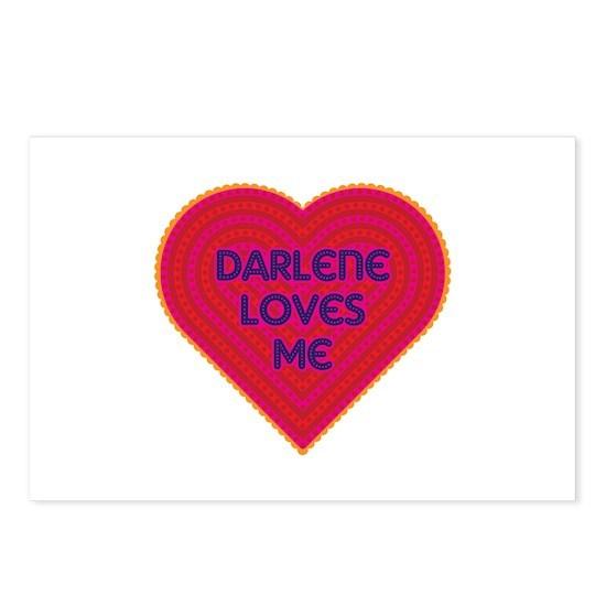 Darlene Loves Me Postcards (Package of 8)