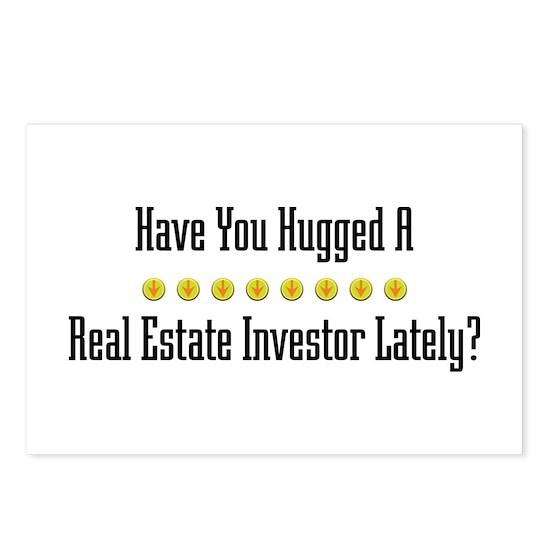 Hugged Real Estate Investor Postcards (Package of