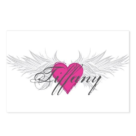 Tiffany-angel-wings Postcards (Package of 8)
