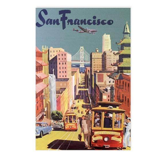 Vintage Travel Poster San Francisco