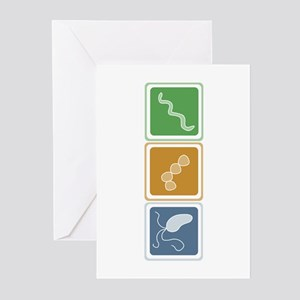 Beautiful Bacteria Greeting Cards (Pk of 10)
