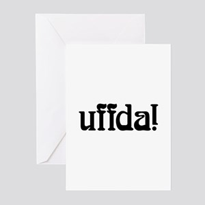 uffda Greeting Cards (Pk of 10)