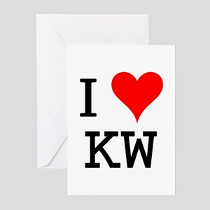 I Love KW Greeting Cards (Pk of 10)