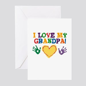 I Love My Grandpa Greeting Cards (Pk of 10)