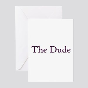 The Dude Greeting Cards (Pk of 10)