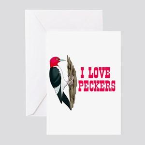 LOVE PECKERS Greeting Cards (Pk of 10)