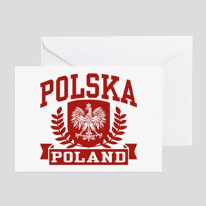 Polska Poland Greeting Cards (Pk of 10)