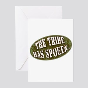 The Tribe Has Spoken Survivor Greeting Cards (Pk o