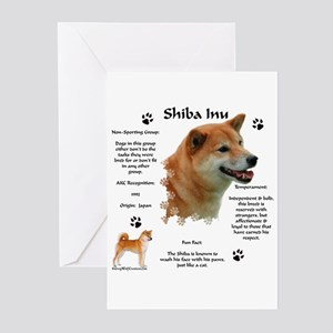 Shiba 1 Greeting Cards (Pk of 10)