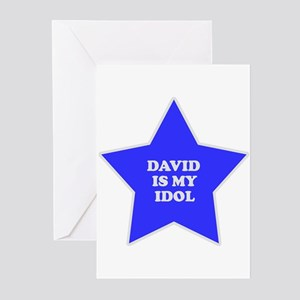 David Is My Idol Greeting Cards (Pk of 10)