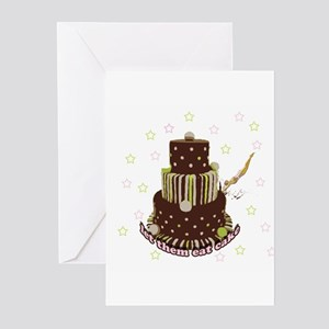 Let Them Eat Cake (no milk) Greeting Cards (Pk of