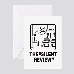 Silent Review Greeting Cards (Pk of 10)