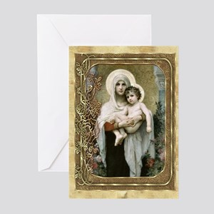 Madonna of the Roses Blank Cards (Pk of 10)