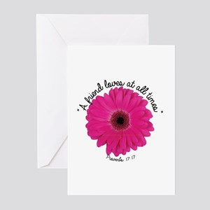 A Friend loves at all times Greeting Cards (Packag