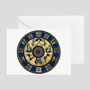Greek Plate Greeting Cards (pk Of 10)