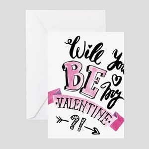 Will You Be My Valentine Greeting Cards