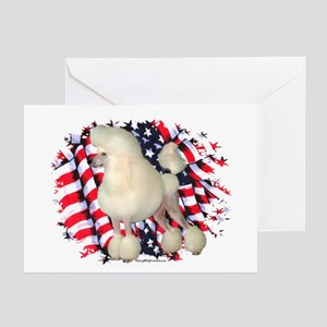 Poodle 3 Greeting Cards (Pk of 10)