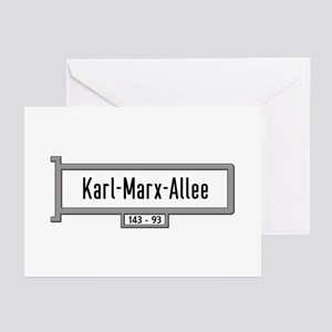 Karl-Marx-Allee, Berlin Greeting Cards (Pk of 10)