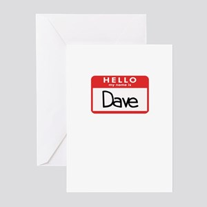 Hello Dave Greeting Cards (Pk of 10)