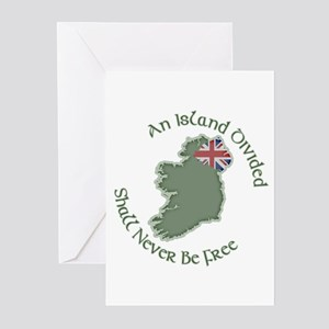 An Island Divided Greeting Cards (Pk of 10)