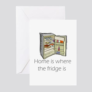 The Fridge  Greeting Cards (Pk of 10)