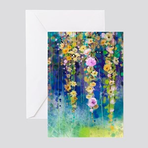 Floral Painting Greeting Cards (Pk of 10)