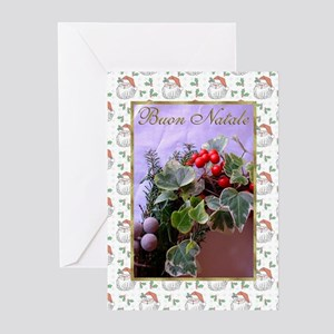 Buon Natale Italian Christmas Cards (Pk of 10)