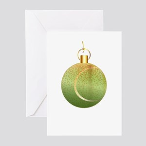 Christmas Decoration Tennic Ball Greeting Cards