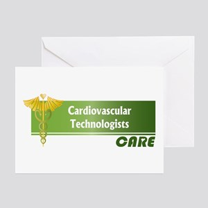 Cardiovascular Technologists Care Greeting Cards (