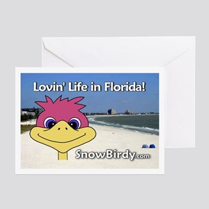 Florida Snowbird Greeting Cards (Pk of 10)