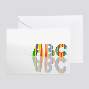 Alphabet - Greeting Cards (Pk of 10)