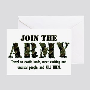 Join the Army Greeting Cards (Pk of 10)