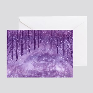 Midnight Snow Greeting Cards (Pk of 10)