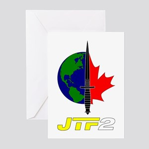 Joint Task Force 2 - Blk Greeting Cards (Pk of 10)
