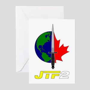 Joint Task Force 2 - Silver Greeting Cards (Pk of