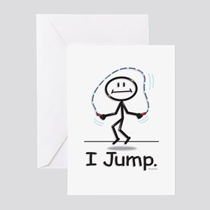 BusyBodies Jump Roping Greeting Cards (Package of