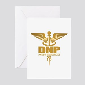 DNP gold Greeting Cards